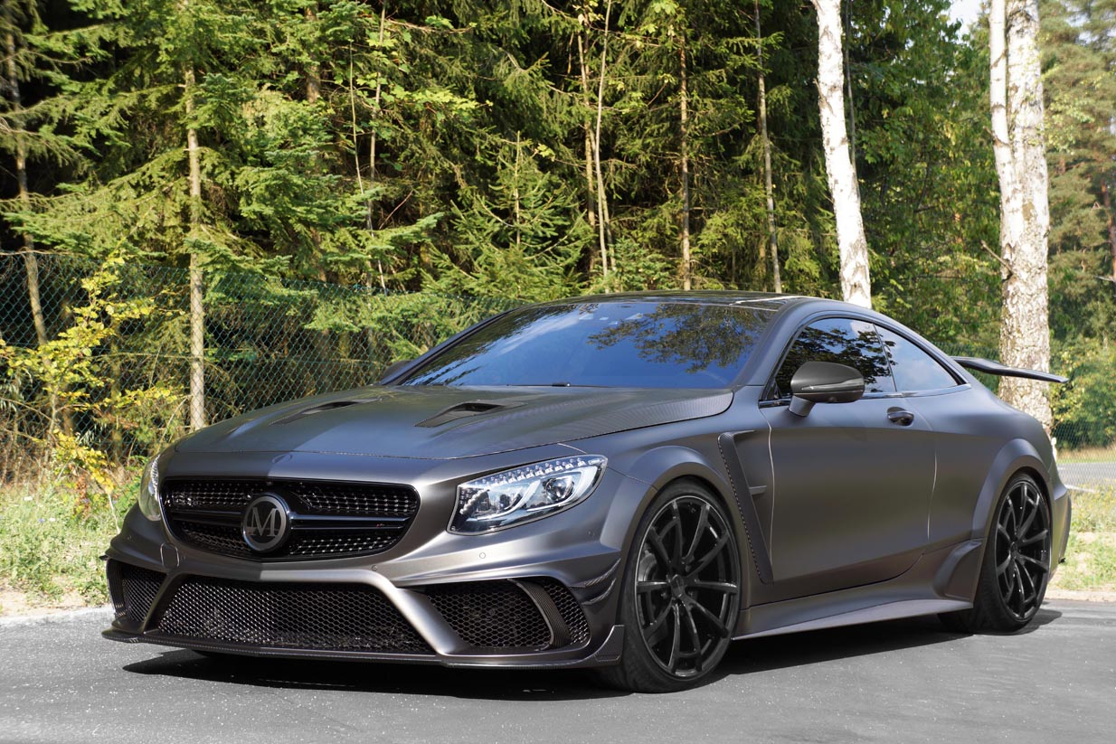 IAA MANSORY BLACK EDITION Coupe front lr