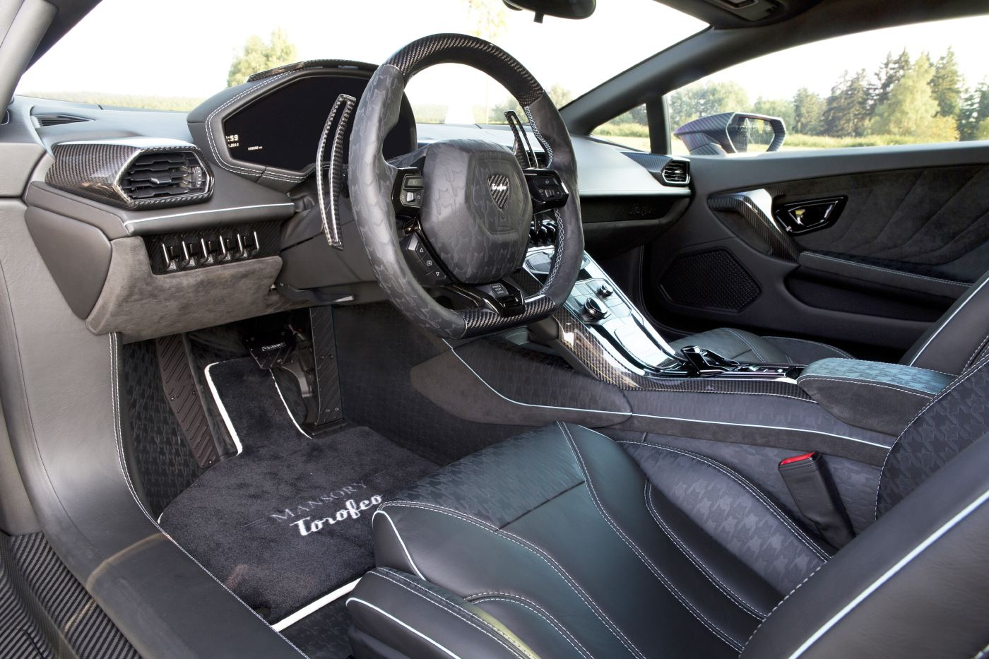1250 ps lamborghini hurac n im exklusiven mansory carbongewand scc500. Black Bedroom Furniture Sets. Home Design Ideas