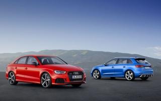Audi RS 3 Limousine und RS 3 Sportback