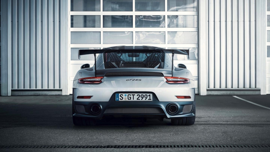 911 GT2 RS Heck