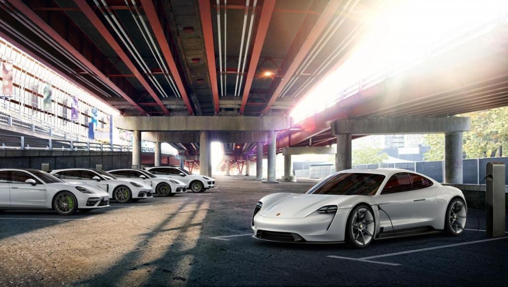 Porsche investiert bis 2022 mehr als sechs Milliarden Euro in Elektromobilität