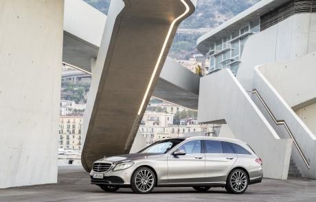 Weltpremiere der neuen C-Klasse Limousine und des T-Modells: Mercedes-Benz Cars auf dem Genfer Automobilsalon 2018World premiere of the new C-Class Saloon and Estate: Mercedes-Benz Cars at the 2018 Geneva Motor Show