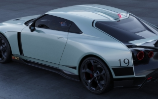Nissan GT-R50 by Italdesign production rendering Mint RR TOP